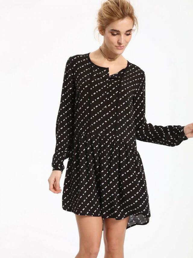 Top Secret šaty dámské s puntíky Top secret - 40