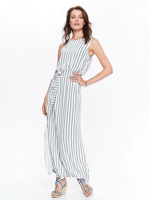 Top Secret šaty dámské pruhované dlouhé s páskem - 40 0c6b9c2bd20