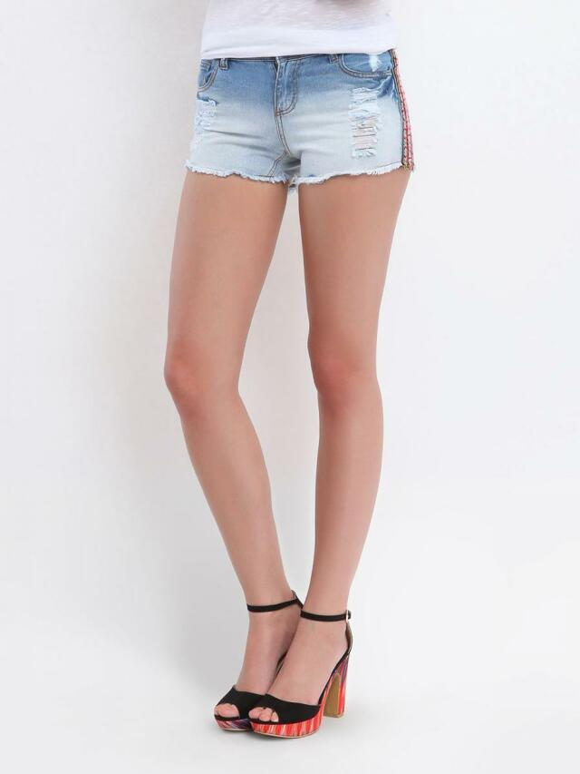 Top Secret Kraťasy jeans dámské