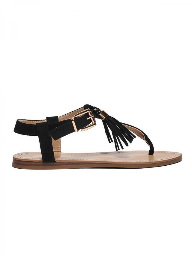 7ee63762b0b4 Top Secret Sandály dámské s třásněmi černé(554226) - 4