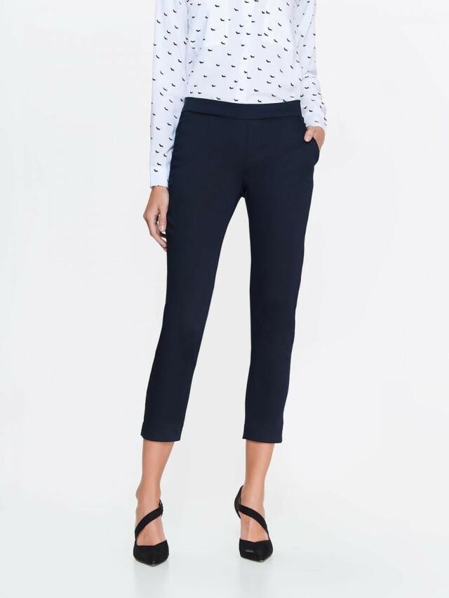 Top Secret Kalhoty dámské černé s rozparky