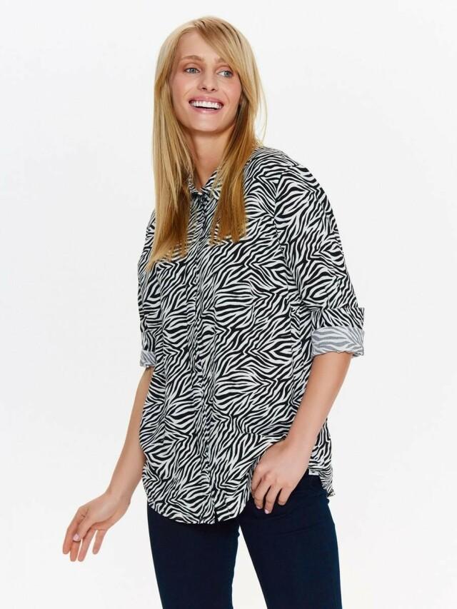 Top Secret Košile dámská se vzorem zebry - 34