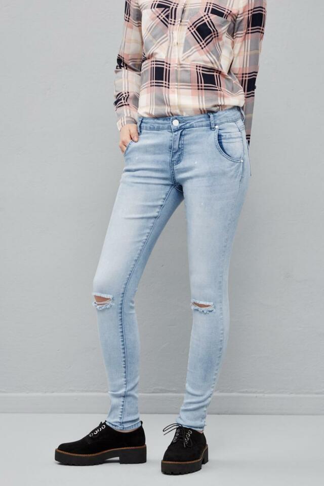 Moodo Jeans dámské roztrhané