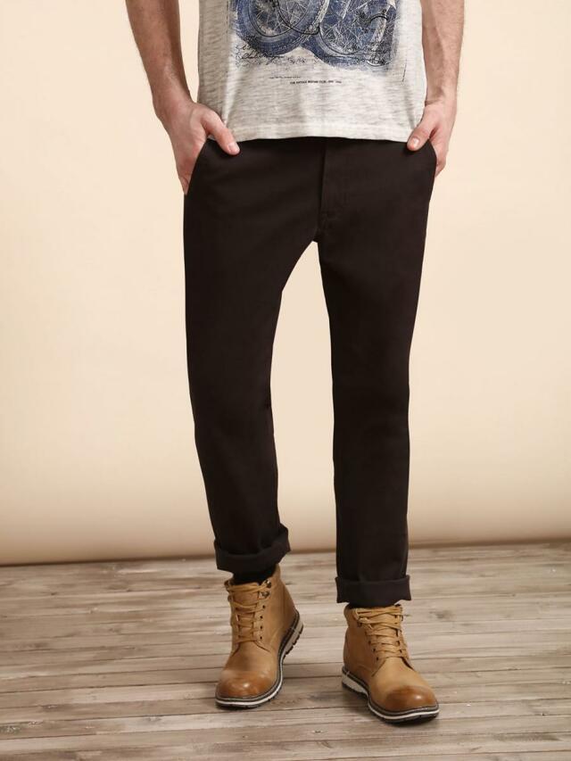 Top Secret Kalhoty pánské bavlněné SLIM FIT