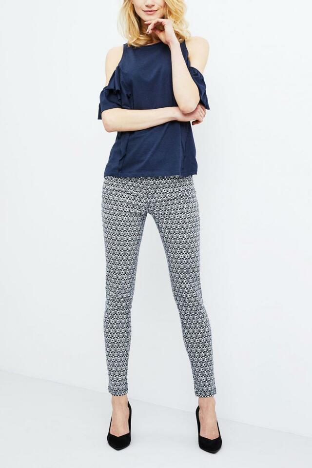 Moodo Kalhoty dámské vzorované