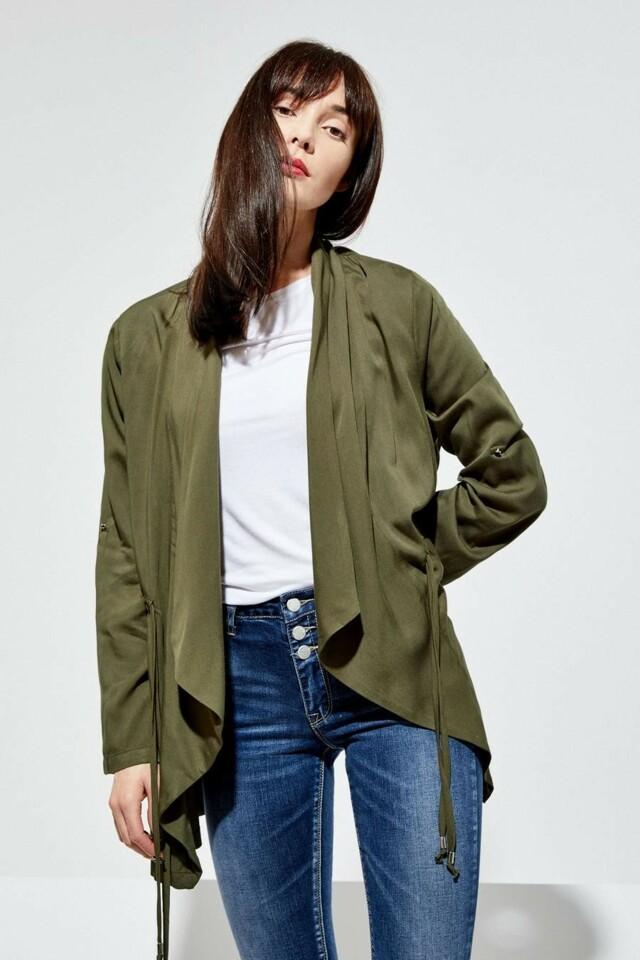 Moodo Sako dámské s volným střihem - XL