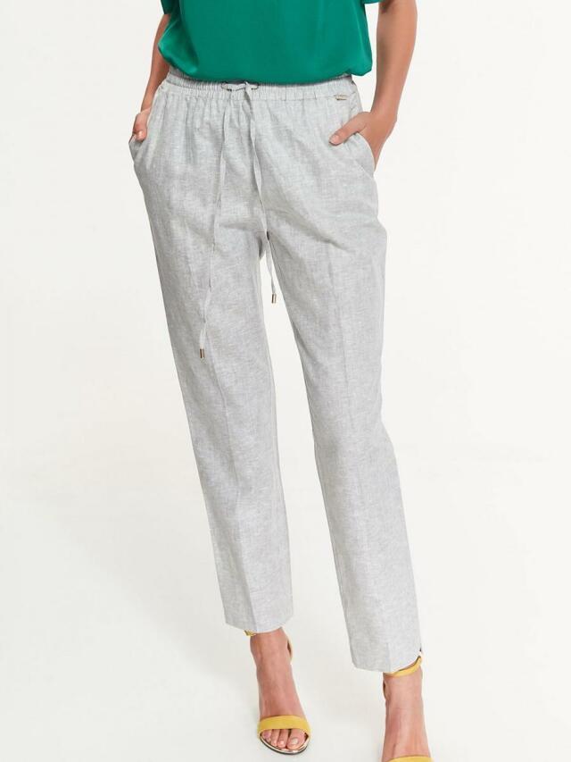 Top Secret Kalhoty dámské šedé na gumu - 40