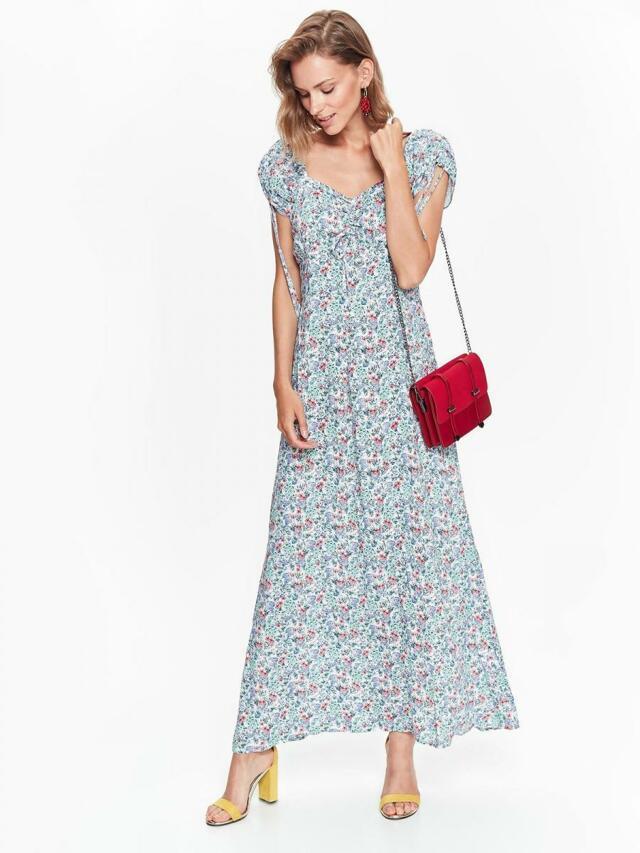 Top Secret šaty dámské dlouhé květované