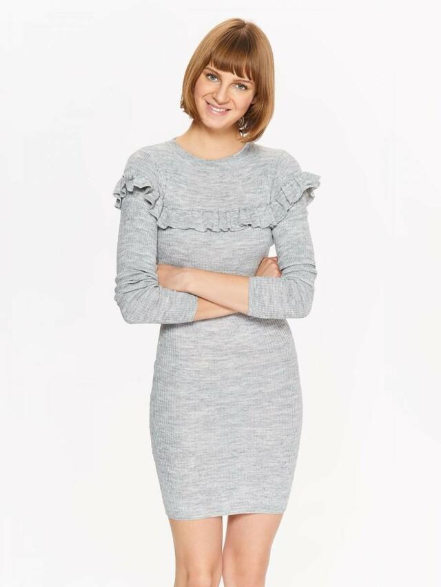 Top Secret šaty dámské pletené s dlouhým rukávem - M cf44fbf6d7