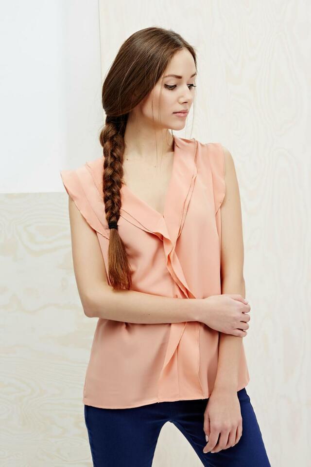 Moodo Košile dámská bez rukávu - XL