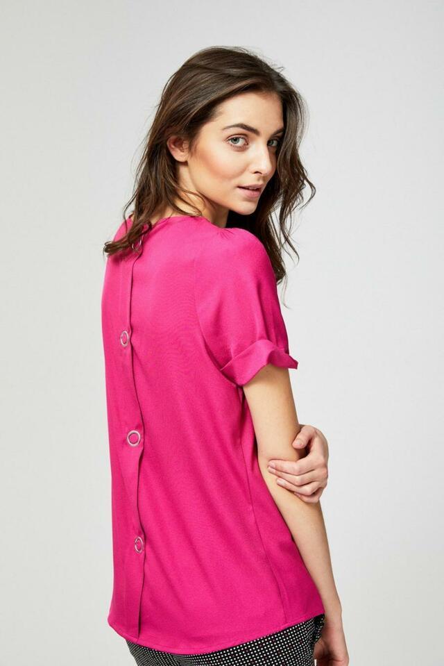 Moodo Košile dámská jednobarevná - XS