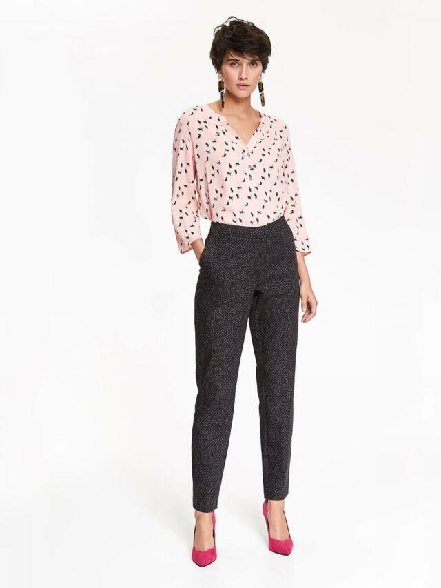 Top Secret Kalhoty dámské společenské s puntíky(831510) - 1 1e90543d81