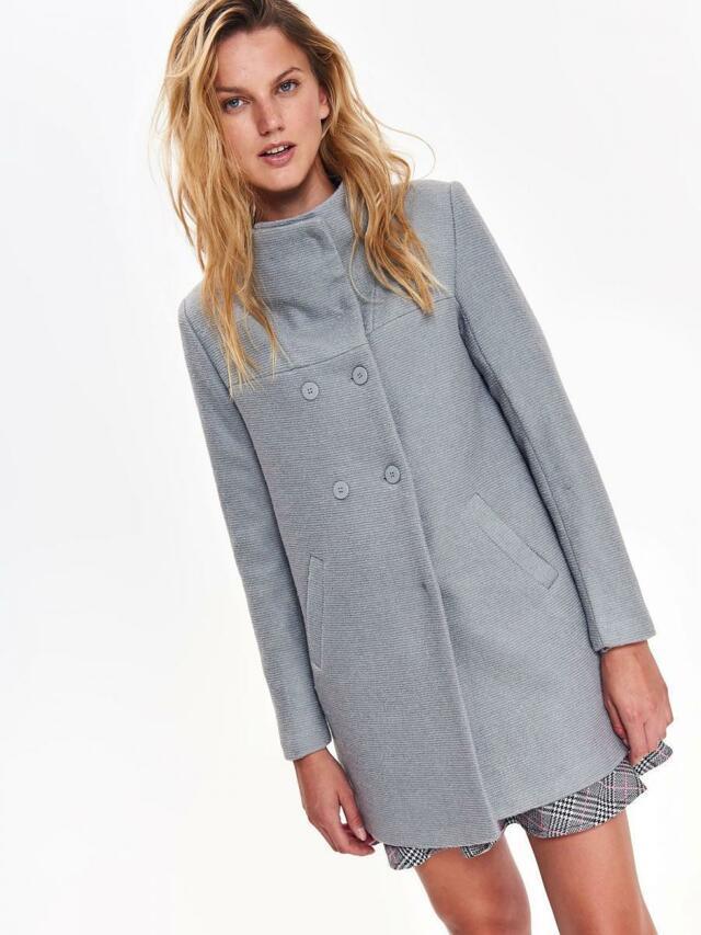 Top Secret Kabát dámský šedý - 38