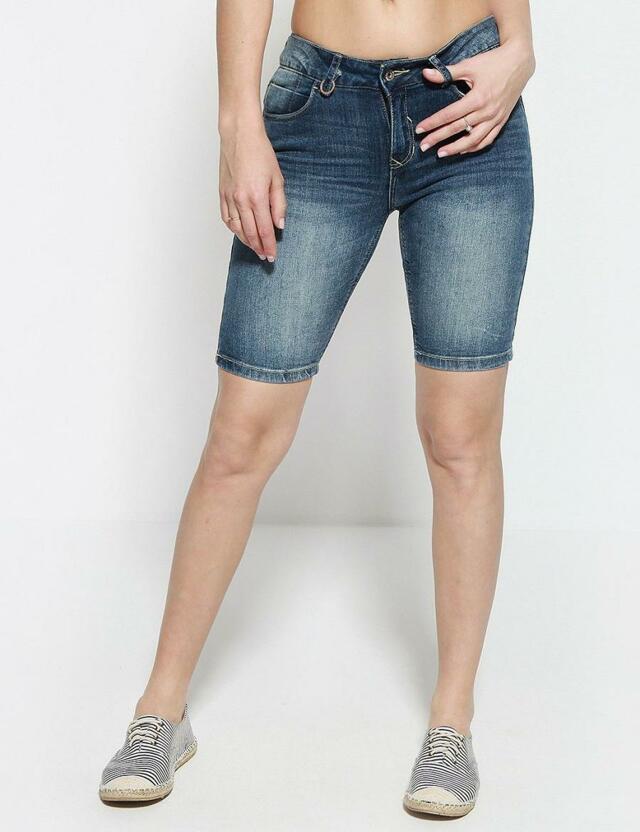 Diverse Kraťasy dámské jeans CORDELIA II