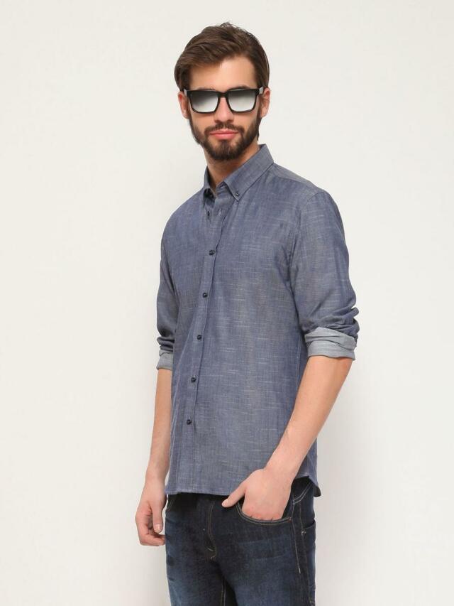 Top Secret Košile pánská dlouhý rukáv