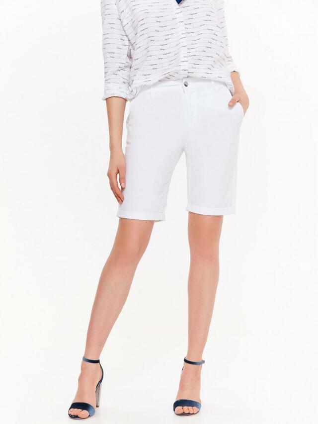 Top Secret Kraťasy dámské jeans bílé - 34