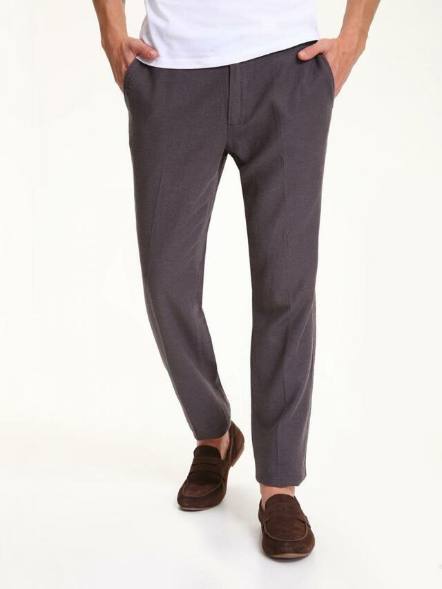 Top Secret Kalhoty pánské lněné - 33