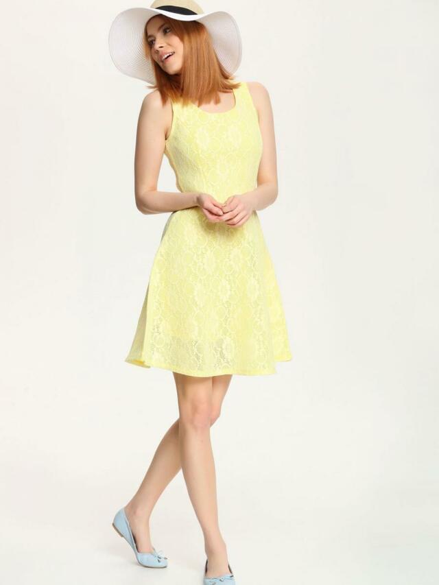 Top Secret šaty dámské krajkové bez rukávu