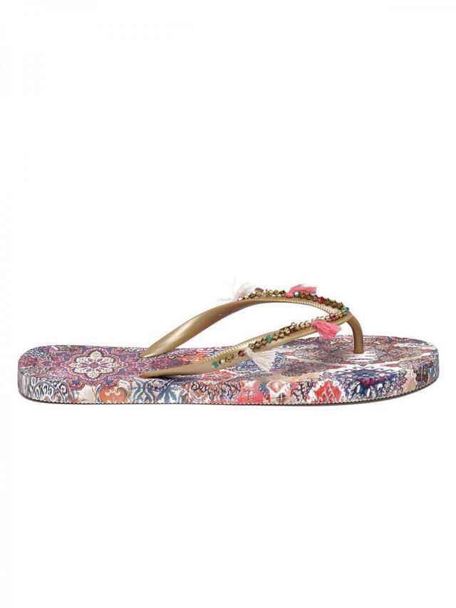 Top Secret Sandály dámské černé na podpatku - 38