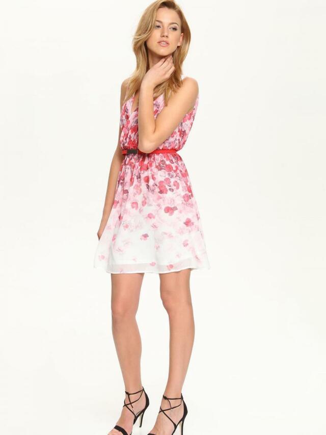 Top Secret šaty dámské bez rukávu květované