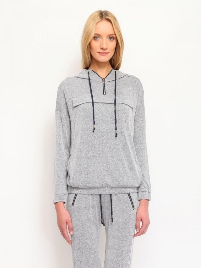 Top Secret Mikina dámská na zip s kapucí