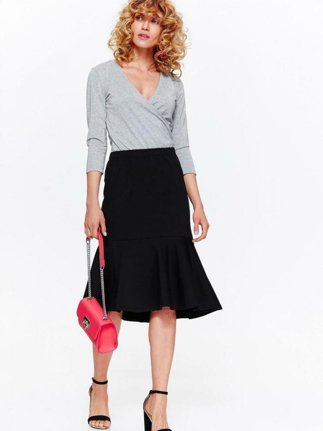 Top Secret Sukně dámská černá s našitým kanýrem - 36 99cdd11e09