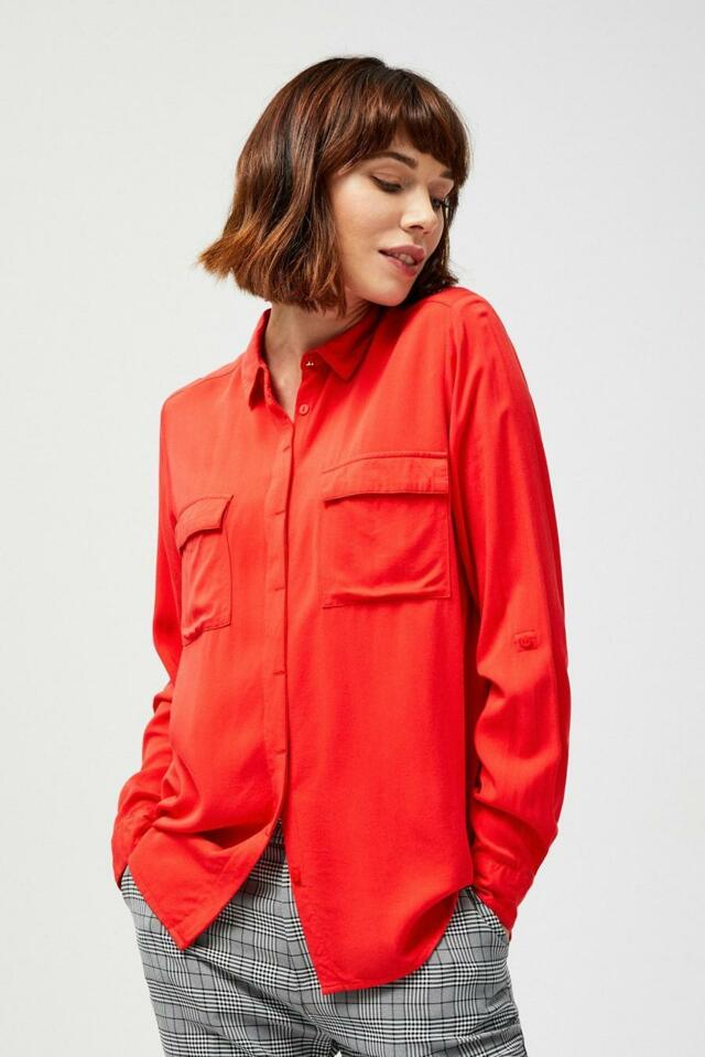 Moodo Košile dámská s kapsama - XS