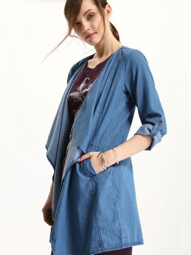 Top Secret Kabát dámský jeans