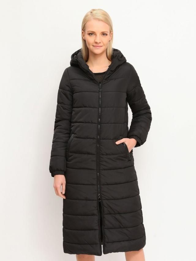Top Secret Kabát dámský prošívaný s kapucí - XS
