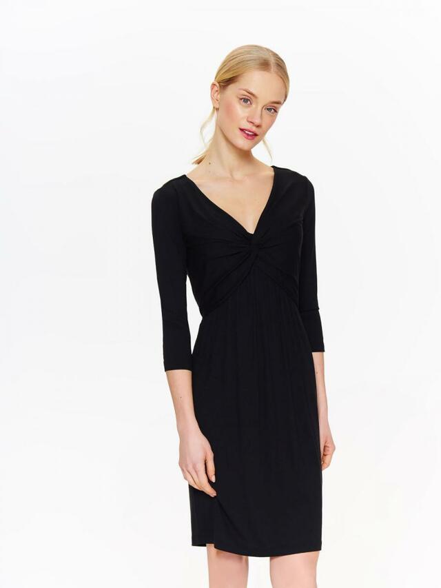 Top Secret šaty dámské černé s 3/4 rukávem - 40