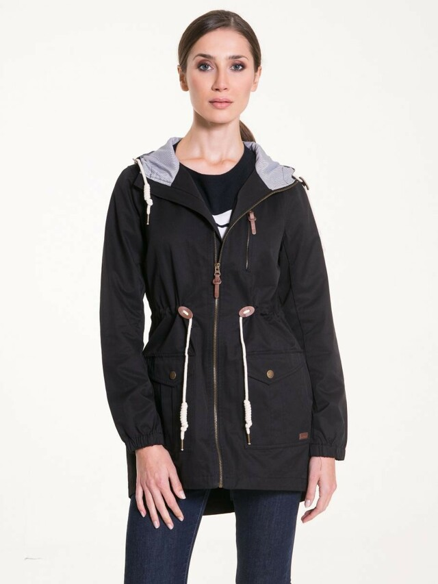Big Star Bunda dámská MISMAN na zip s kapucí