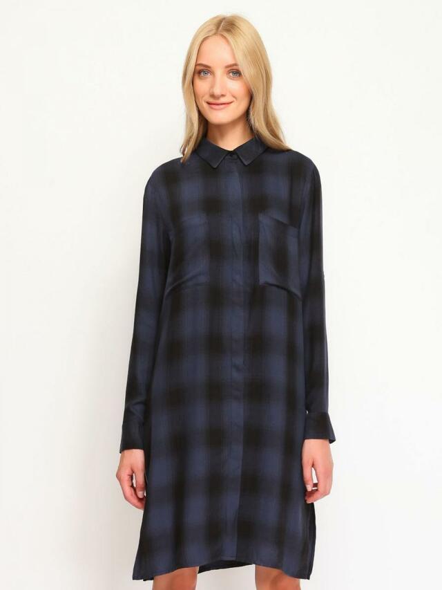 Top Secret Košile dámská kostkovaná dlouhý rukáv