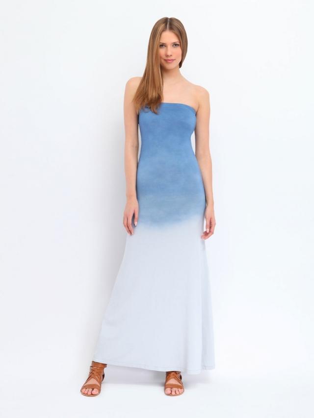 Top Secret šaty dámské dlouhé bez ramínek - 36