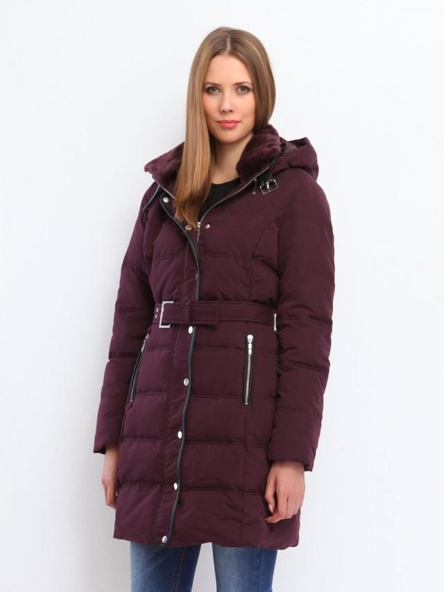 Top Secret Kabát dámský péřový dlouhý - 34