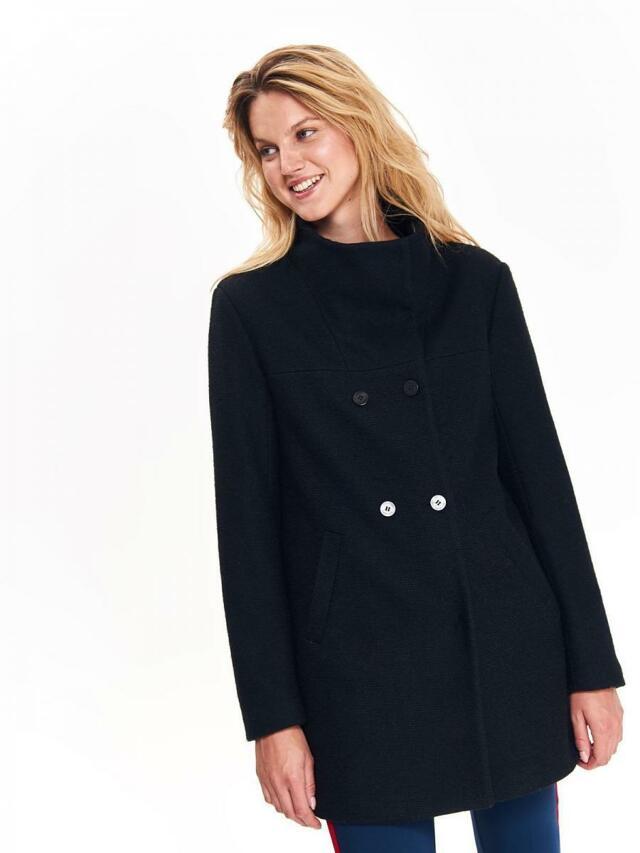 Top Secret Kabát dámský černý - 38