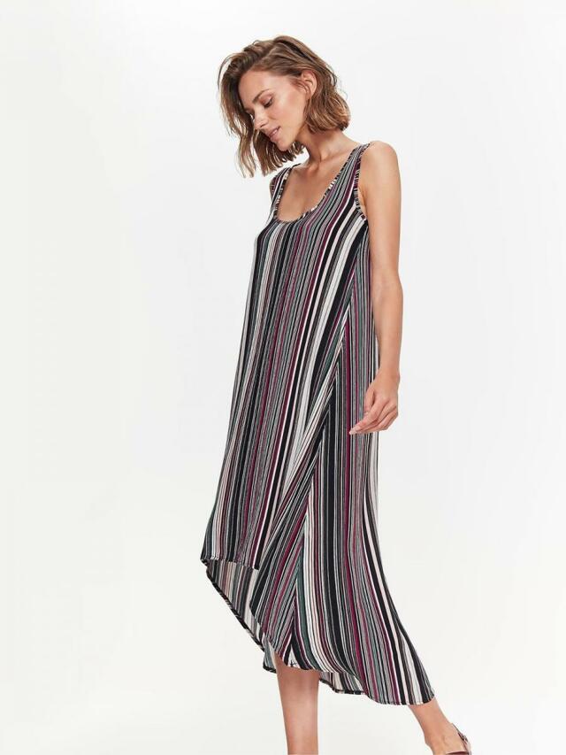 Top Secret šaty dámské MIDI pruhované bez rukávu - 36 bcd6d2bcbd
