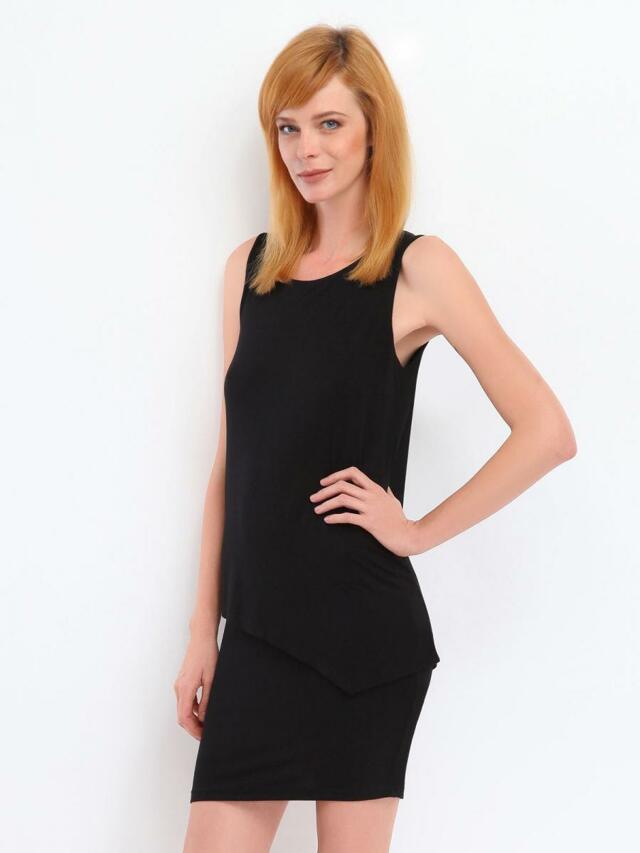 Top Secret šaty dvouvrstvé