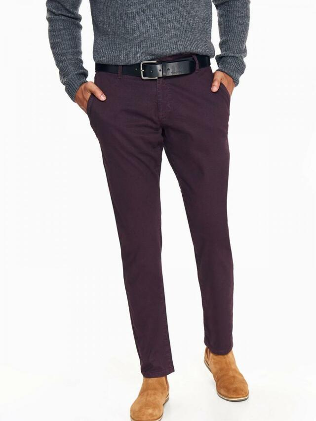 Top Secret Kalhoty pánské CHINO s páskem