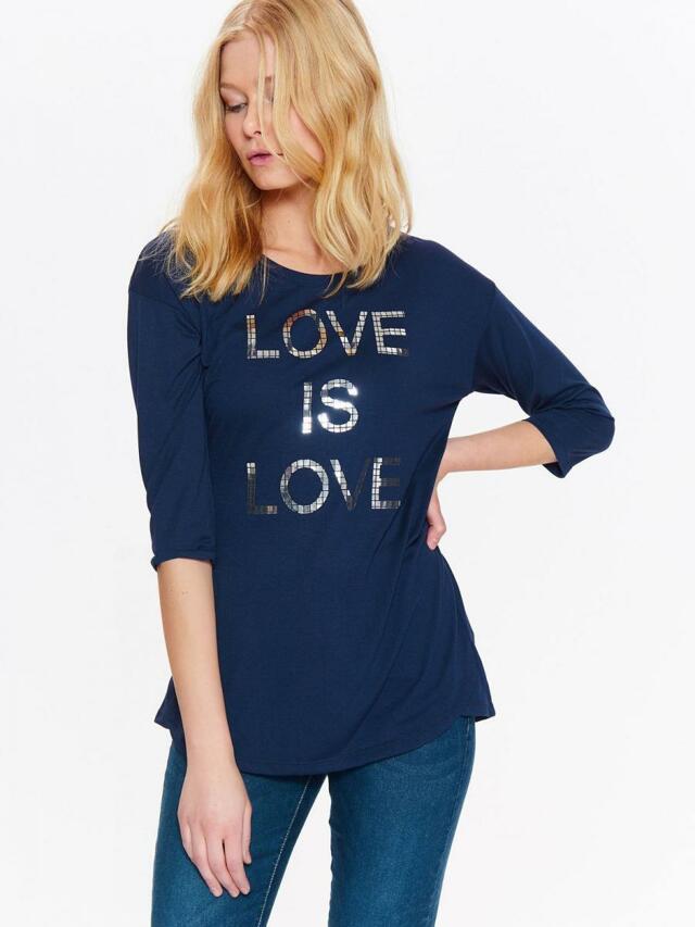 Top Secret Triko dámské LOVE IS LOVE 3/4 rukáv - 42