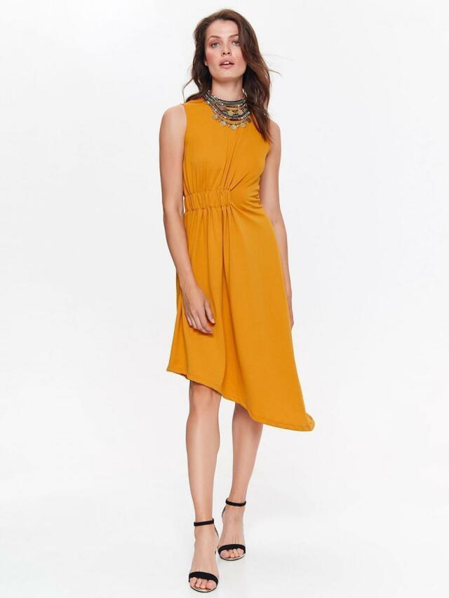 Top Secret šaty dámské žluté bez rukávu - 40