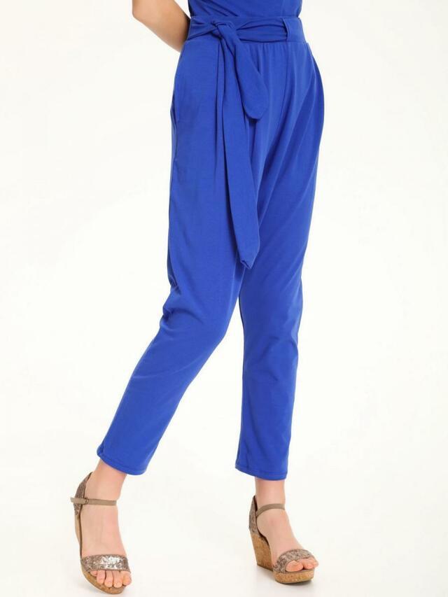 Top Secret Kalhoty dámské jednobarevné s látkovým páskem