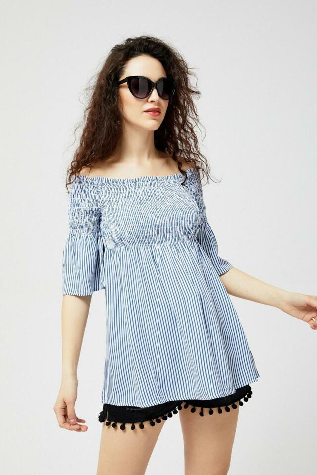 Moodo Košile dámská HISZ s krátkým rukávem - M