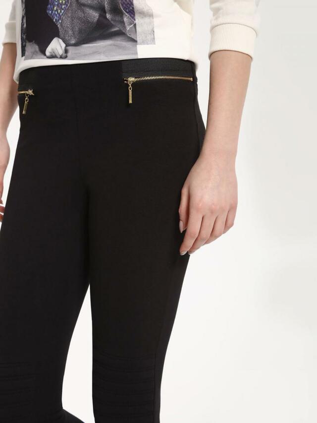 Top Secret Kalhoty dámské bez zapínání s úzkým střihem - XS