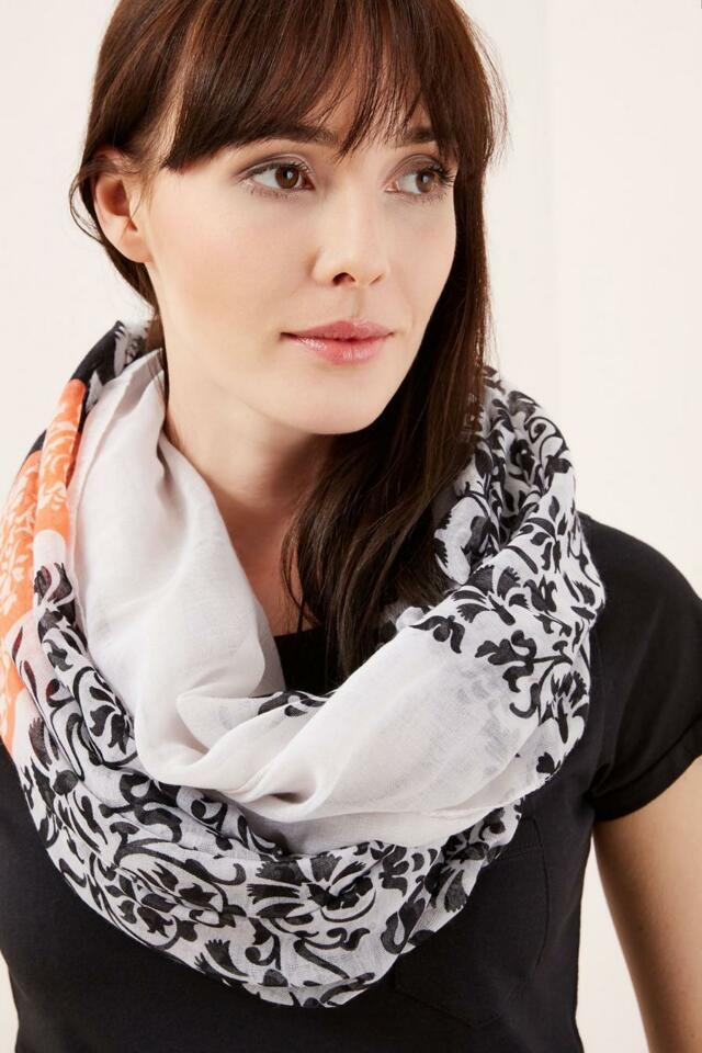 Moodo šátek dámský komín vzorovaný