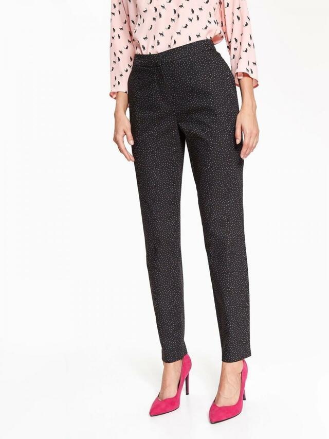 Top Secret Kalhoty dámské společenské s puntíky(831510) - 2 f1c19c570e