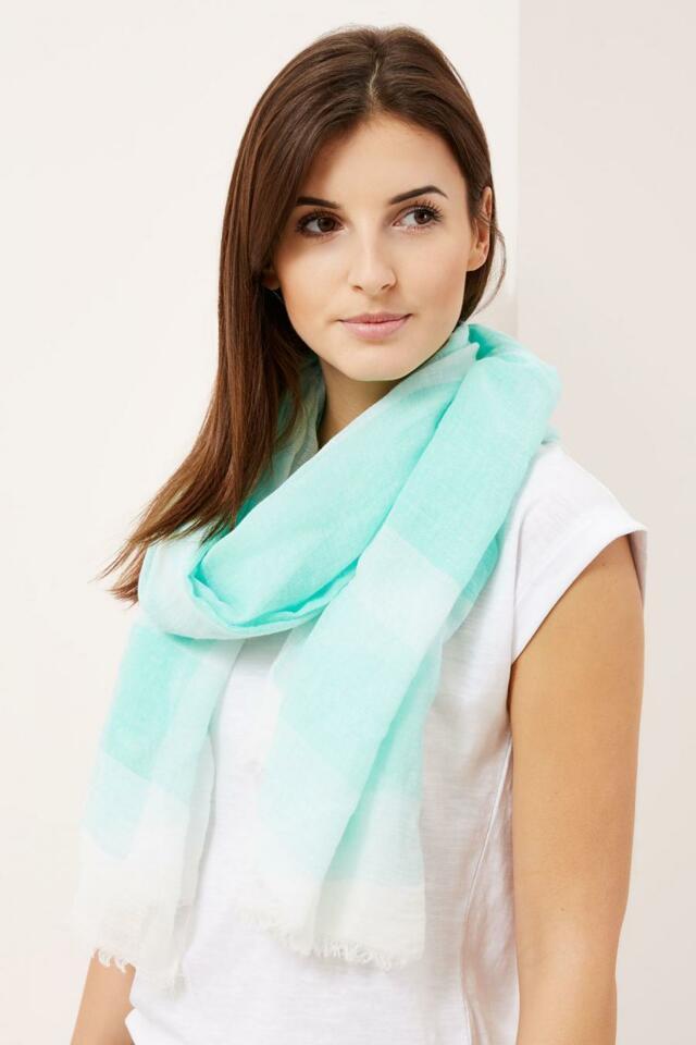 Moodo šátek dámský aqua