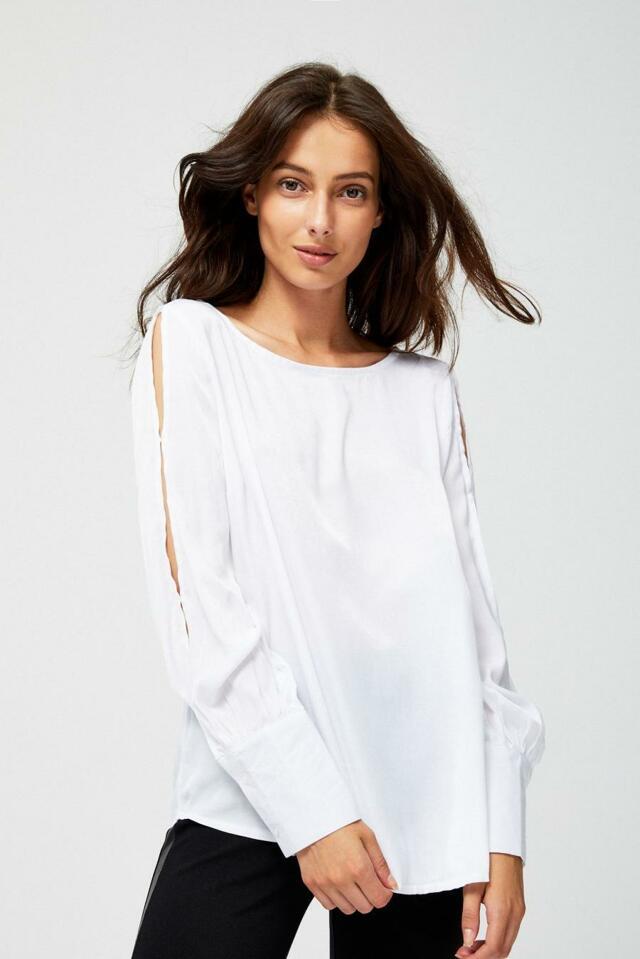 Hande.cz  moodo košile dámská zdobená krajkou a dlouhým rukávem 963526d7b2