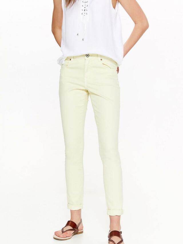 Top Secret Kalhoty dámské žluté - S