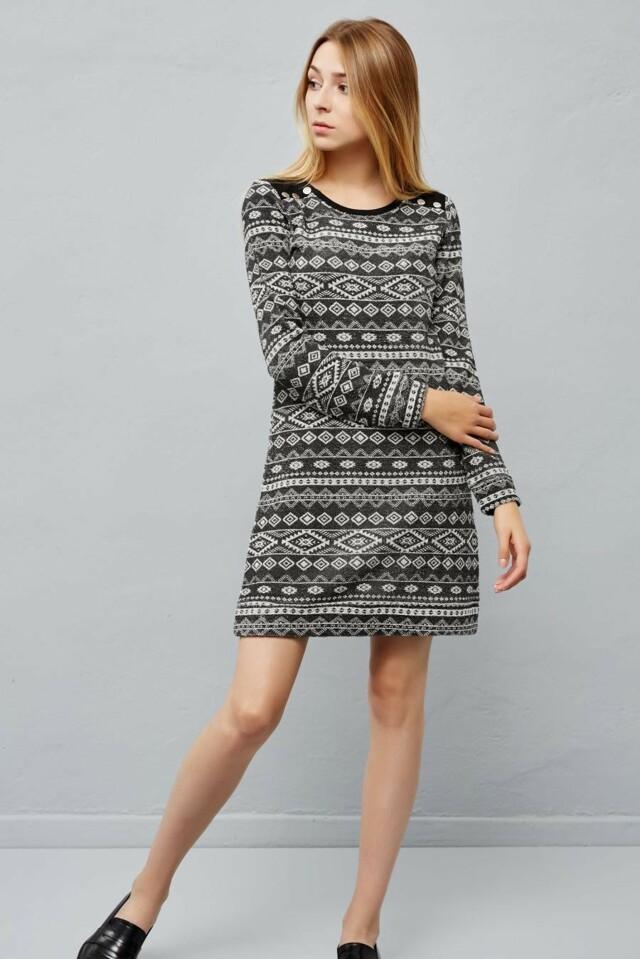 Moodo šaty dámské dlouhý rukáv