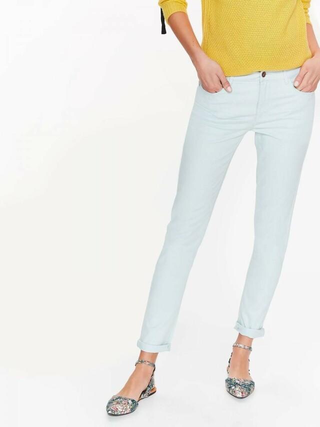 Top Secret Jeansy dámské bledě modré SLIM